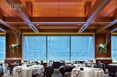 A Sea Change: Paul and Carol Bentel Reinvent New York's Le Bernardin for Eric Ripert | Projects | Interior Design