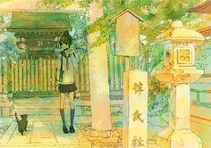 「あげないぞ!」  京都行った記念!北野天満宮の境内のところです。