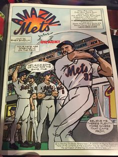 Amazin Mets Comic Book