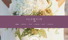 Thiết kế website bán hoa tươi với các mẫu template website bán hoa tươi cực đẹp dành cho các shop bán hoa tươi trực tuyến, bán hoa online. Download tại đây!