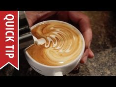 How to Make Perfect Latte Art with Steamed Milk | Make: