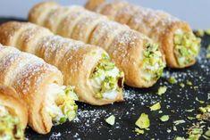 ✅Cream rolls🥐 | opskrifter | GastroFun.dk Sushi, Ethnic Recipes, Food, Meals