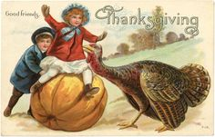 This Victorian Thanksgiving Postcard is a such a cute Image! Description from thegraphicsfairy.com. I searched for this on bing.com/images