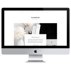 Glamour - Ollie & Kay - Wordpress Theme