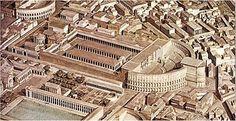 Théâtre de Pompée, Rome, 55 av. JC