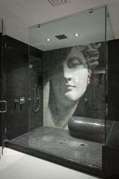 A bench in a shower is an excellent idea