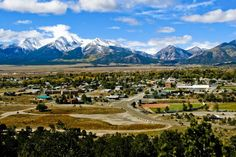 Salida, CO and Chaffee County. Beautiful place to go hiking, climbing, rafting, skiing and or just to relax.