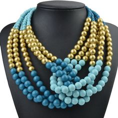 beaded necklace #beads #necklace