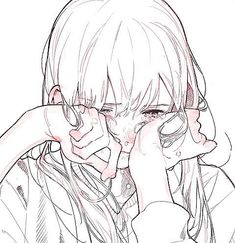 Drawing Reference Poses, Art Reference, Anime Art Girl, Manga Art, Art Sketches, Art Drawings, People Art, Art And Illustration, Character Art