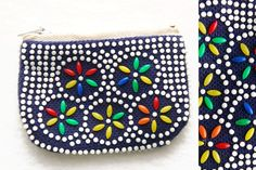 beaded purses from the 70s - I even remember picking the little beads off...and wishing I hadn't !  aug16