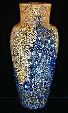 Michael Egan blue vase