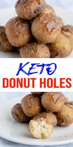 How to do keto diet!Complete Keto Diet Plan perfect for beginners! This is the perfect place to start if you are learning about keto diet plans or low carb diets. Low Carb Donut, Low Carb Keto, Low Carb Recipes, Vegetarian Recipes, Clean Recipes, Vegetable Recipes, Gluten Free Doughnuts, Keto Donuts, Donuts Donuts