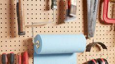Storage ideas in garage and organizing ideas for garage tools. Tip 17903040 Storage ideas in garage and organizing ideas for garage tools. Tip 17903040 Garage Organization, Garage Storage, Garage Tools, Organizing Ideas, Pegboard Storage, Toy Storage, Storage Ideas, Storing Water, Overhead Storage