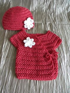 Ravelry: Project Gallery for Preemie / Newborn Wrap Diaper Shirt pattern by Michelle Fullington