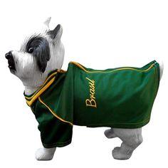 Jaqueta Copa Verde e Amarelo Bloomer - MeuAmigoPet.com.br #petshop #cachorro #cão #meuamigopet