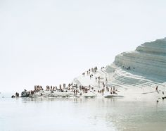 Really digging this latest project of photographer Massimo Vitali.