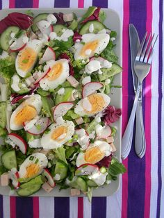 Anti Pasta Salads, Pasta Salad Recipes, Cooking Recipes, Healthy Recipes, Food Inspiration, Cobb Salad, A Table, Delish, Side Dishes