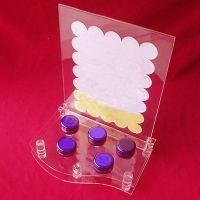 Showcase Floor Standing Clear Acrylic Cosmetic Display