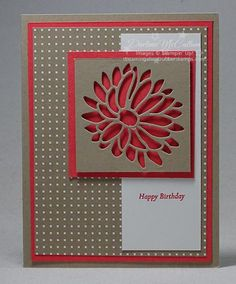 """Short on time? Need to make a quick card? This is it! This card is a true """"10 minutes or less"""" card made with the Special Reason stamp set (available in Wood 142899 and Clear 142902) and the Styli"""