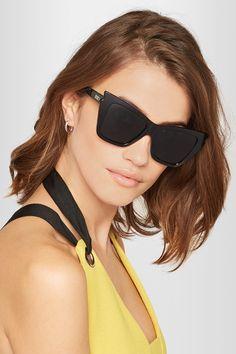 4680216543c Le Specs - Rapture cat-eye acetate sunglasses