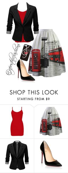 """Apostolic Fashions #996"" by apostolicfashions ❤ liked on Polyvore featuring BKE core, J.TOMSON and Christian Louboutin"