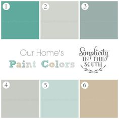 our home ballard designs taste on a target budget, design d cor, Our Home s Paint Colors