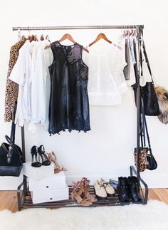 Perfect Clothing Rack Great As Extra Closet Space