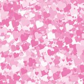 Princess Heart Camo by laurels, click to purchase fabric