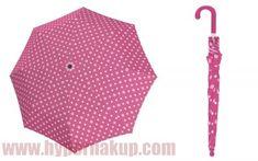 Detský dáždnik Doppler KIDS MAXI DOTS ružový Minnie Mouse, Dots, Disney, Fashion, Stitches, Moda, Fashion Styles, Fashion Illustrations, Disney Art