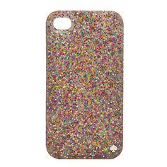 glitter iphone case / kate spade