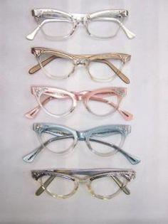 Vivid Vintage... glasses, specs, cat eye