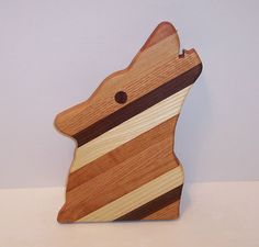 Howling Wolf Cutting Board by tomroche on Etsy, $15.00