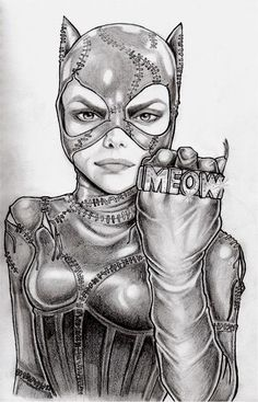 *Lisa McIntyre - Catwoman  ✯ Meow :: Artist Lisa McIntyre ✯ More Comic Art @ http://groups.google.com/group/Comics-Strips & http://groups.yahoo.com/group/ComicsStrips &  http://www.facebook.com/ComicsFantasy & http://www.facebook.com/groups/ArtandStuff
