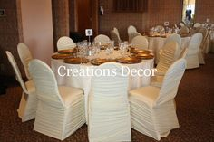 rushed chair covers