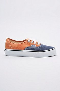 Vans Authentic Trainers in Teal - Urban Outfitters