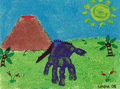 Handprint Dino