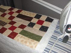 quilt as you go tutorial. Now I just have to learn the very basics for quilting lol