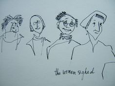 A personal favorite from my Etsy shop https://www.etsy.com/listing/292124637/xmas-sale-sale-the-women-sighed-by
