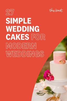 Looking for simple wedding cake ideas? Check out these top modern wedding cake picks from The Knot editors and find everything from minimalist cakes to multi-tier wedding cakes made to match your modern wedding. Personalize your wedding and put a spin on tradition with The Knot's customizable wedding websites, wedding invitations, registry (and more!). Not sure where to start? Get ideas and advice from our editors on everything from wedding colors and venue types to all things guest. Wedding Colors, Wedding Ideas, Cake Picks, Sugar Flowers, Wedding Website, Simple Weddings, How To Make Cake, Cake Ideas, Spin