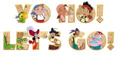 jake and the neverland pirates map png - Buscar con Google