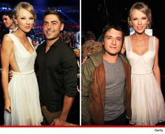 Eeewwwww yuck get Taylor swift outta there! But this os the closest I could get to them together. #1 &4josh h and zac e