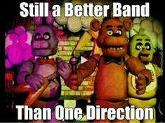 Lol, nah 1D is better by a land slide, their better than the wanted thoe<<<this person needs a better taste in music