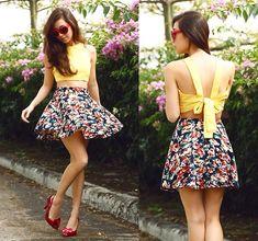 Love Bug (by Kryz Uy) http://lookbook.nu/look/4614839-Binky%20Doodles-Top-Giftsahoy-Skirt-Love-Bug