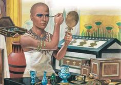 egyptian kohl | Ancient Egyptians wore make up Top 10 Unknown Hidden Facts about Egypt