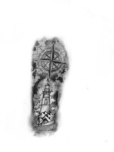 Forearm Band Tattoos, Arm Sleeve Tattoos, Tattoo Sleeve Designs, Tattoo Designs Men, Leg Tattoos, Cool Tattoos, Tiger Tattoo Design, Compass Tattoo Design, Tattoo Design Drawings
