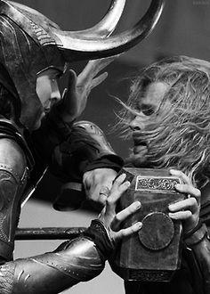 Loki and Thor: brothers at war