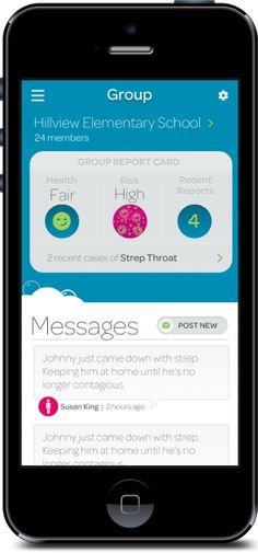Thermomètre Kinsa et son application e-santé