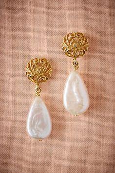 Vermeil Teardrop Earrings - anthropologie.com
