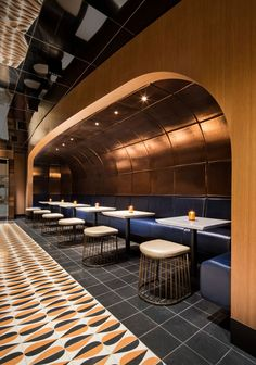 Fairmont The Queen Elizabeth Hotel by Sid Lee Architecture - Naccarat Bar