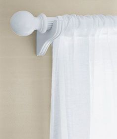 Wood, Metal, or Plastic Curtain Rods   A step-by-step guide to refreshing everything in your home that's paintable.